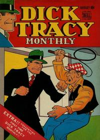Cover for Dick Tracy Monthly (Dell, 1948 series) #1