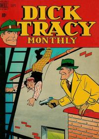 Cover Thumbnail for Dick Tracy Monthly (Dell, 1948 series) #9
