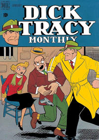 Cover Thumbnail for Dick Tracy Monthly (Dell, 1948 series) #13