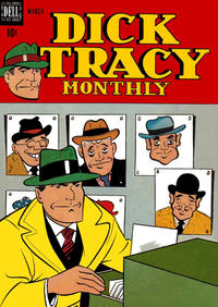 Cover Thumbnail for Dick Tracy Monthly (Dell, 1948 series) #15