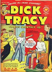 Cover Thumbnail for Dick Tracy (Harvey, 1950 series) #28