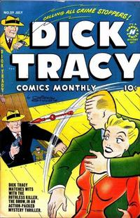 Cover Thumbnail for Dick Tracy (Harvey, 1950 series) #29