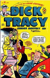 Cover Thumbnail for Dick Tracy (Harvey, 1950 series) #31