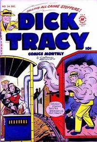 Cover Thumbnail for Dick Tracy (Harvey, 1950 series) #34