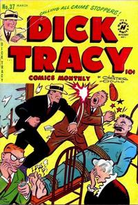 Cover Thumbnail for Dick Tracy (Harvey, 1950 series) #37