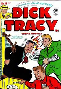 Cover Thumbnail for Dick Tracy (Harvey, 1950 series) #39