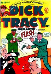 Cover Thumbnail for Dick Tracy (Harvey, 1950 series) #40