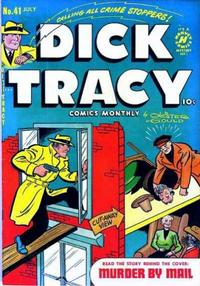 Cover Thumbnail for Dick Tracy (Harvey, 1950 series) #41