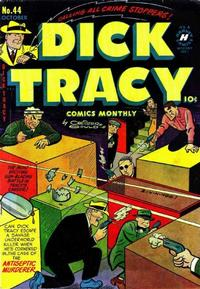 Cover Thumbnail for Dick Tracy (Harvey, 1950 series) #44