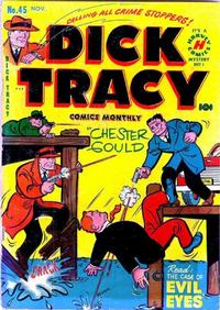 Cover Thumbnail for Dick Tracy (Harvey, 1950 series) #45