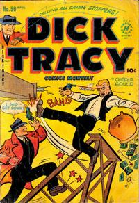 Cover Thumbnail for Dick Tracy (Harvey, 1950 series) #50