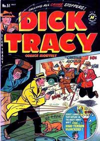 Cover Thumbnail for Dick Tracy (Harvey, 1950 series) #51