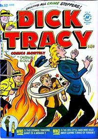 Cover Thumbnail for Dick Tracy (Harvey, 1950 series) #52