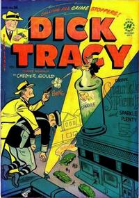 Cover Thumbnail for Dick Tracy (Harvey, 1950 series) #54