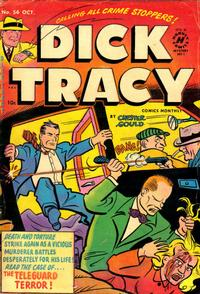 Cover Thumbnail for Dick Tracy (Harvey, 1950 series) #56