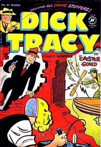 Cover Thumbnail for Dick Tracy (Harvey, 1950 series) #61