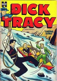 Cover Thumbnail for Dick Tracy (Harvey, 1950 series) #76