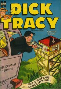 Cover Thumbnail for Dick Tracy (Harvey, 1950 series) #77