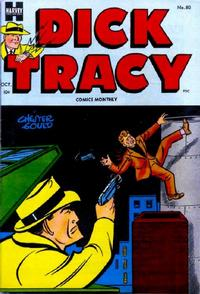 Cover Thumbnail for Dick Tracy (Harvey, 1950 series) #80