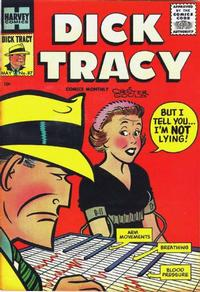 Cover Thumbnail for Dick Tracy (Harvey, 1950 series) #87