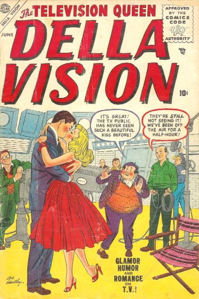 Cover for Della Vision (Marvel, 1955 series) #2