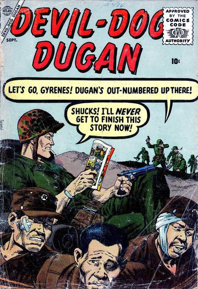 Cover for Devil Dog Dugan (Marvel, 1956 series) #2