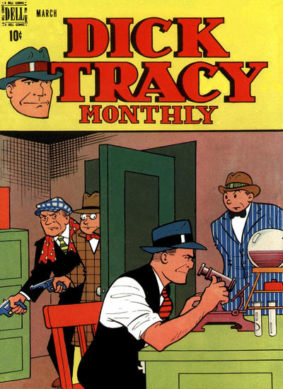 Cover for Dick Tracy Monthly (Dell, 1948 series) #3