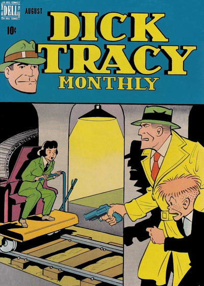 Cover for Dick Tracy Monthly (Dell, 1948 series) #8
