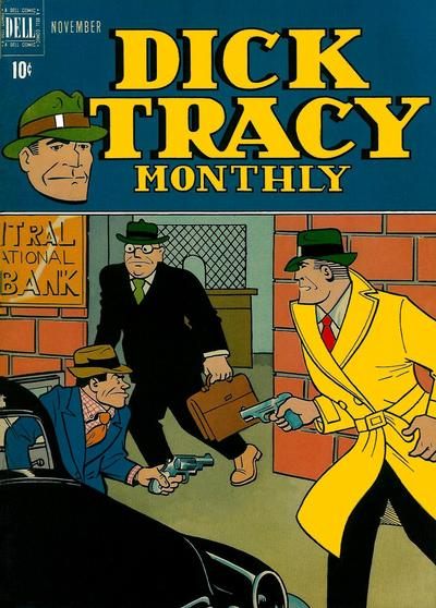 Cover for Dick Tracy Monthly (Dell, 1948 series) #11