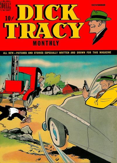 Cover for Dick Tracy Monthly (Dell, 1948 series) #23