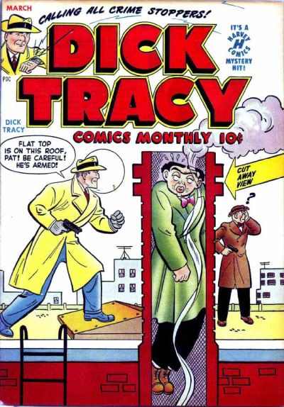Cover for Dick Tracy (Harvey, 1950 series) #25