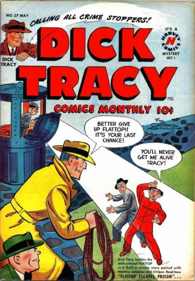 Cover for Dick Tracy (Harvey, 1950 series) #27
