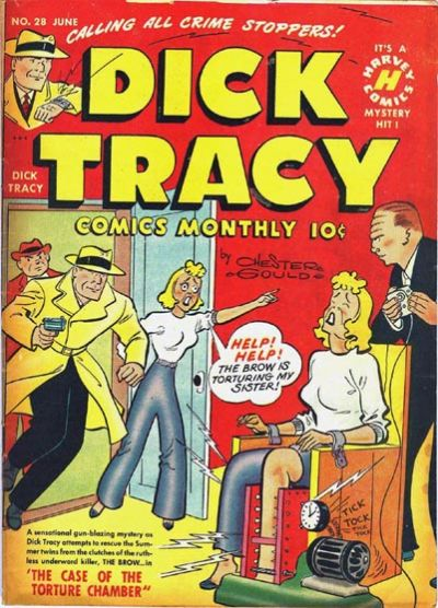 Cover for Dick Tracy (Harvey, 1950 series) #28