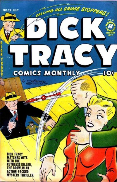 Cover for Dick Tracy (Harvey, 1950 series) #29