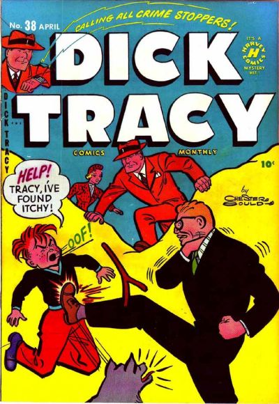 Cover for Dick Tracy (Harvey, 1950 series) #38