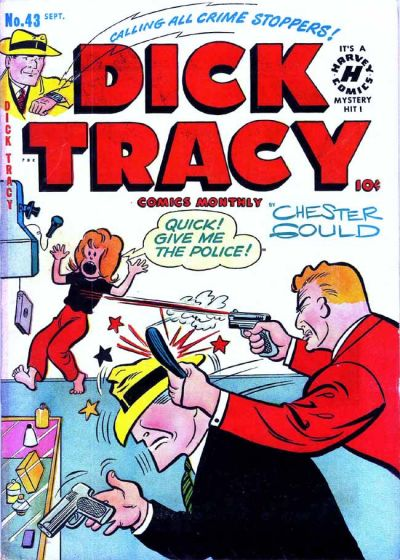 Cover for Dick Tracy (Harvey, 1950 series) #43