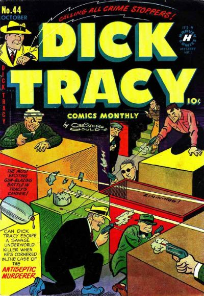 Cover for Dick Tracy (Harvey, 1950 series) #44