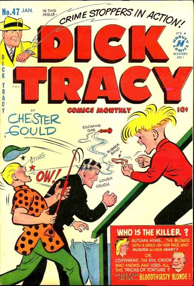 Cover for Dick Tracy (Harvey, 1950 series) #47