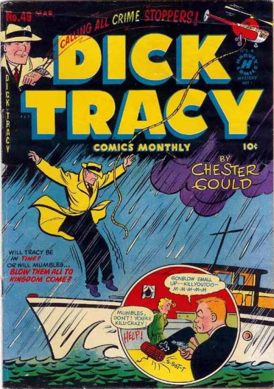 Cover for Dick Tracy (Harvey, 1950 series) #49