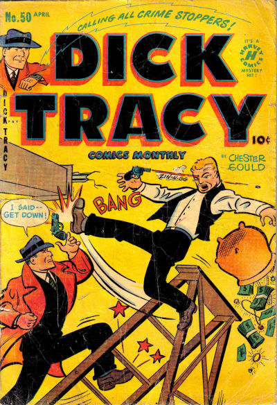 Cover for Dick Tracy (Harvey, 1950 series) #50