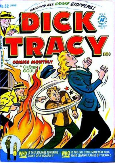 Cover for Dick Tracy (Harvey, 1950 series) #52