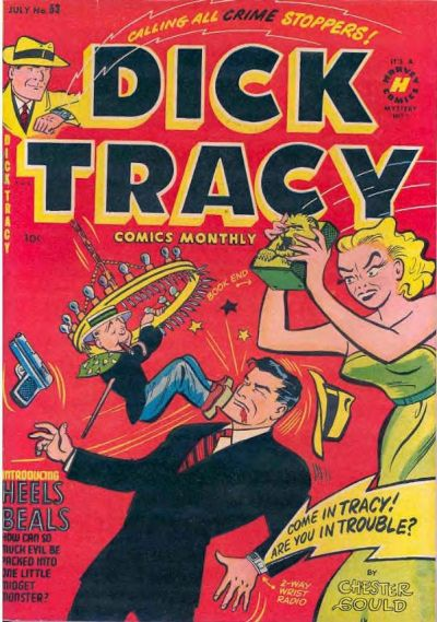 Cover for Dick Tracy (Harvey, 1950 series) #53