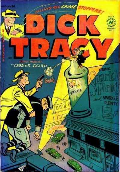 Cover for Dick Tracy (Harvey, 1950 series) #54