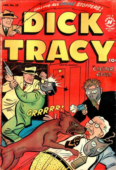 Cover for Dick Tracy (Harvey, 1950 series) #59