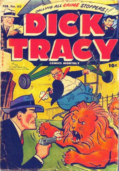 Cover for Dick Tracy (Harvey, 1950 series) #60