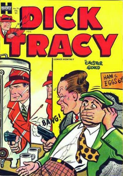 Cover for Dick Tracy (Harvey, 1950 series) #72