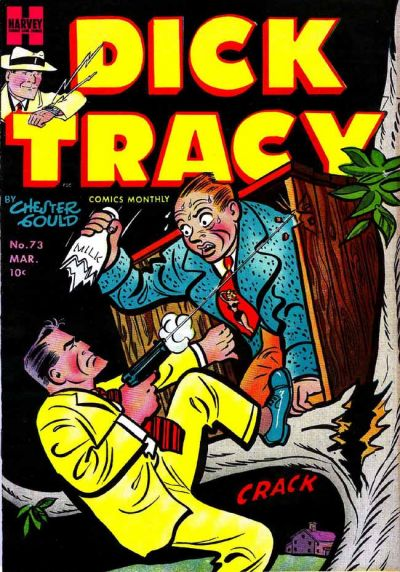 Cover for Dick Tracy (Harvey, 1950 series) #73