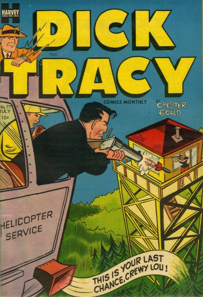 Cover for Dick Tracy (Harvey, 1950 series) #77