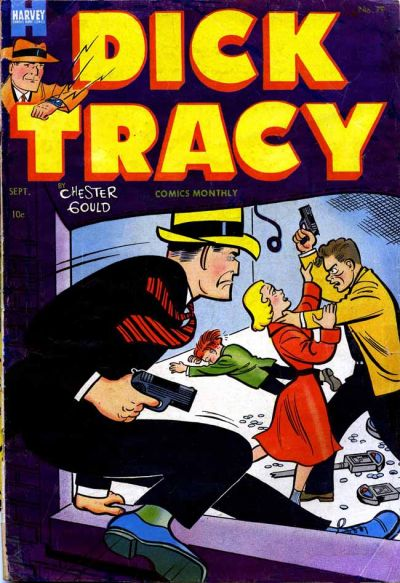 Cover for Dick Tracy (Harvey, 1950 series) #79