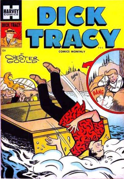 Cover for Dick Tracy (Harvey, 1950 series) #82